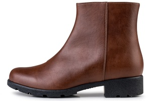 Grip+Ankle Boot Brown - E.V.S. - Eco Vegan Shoes