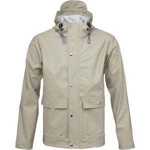 Regenjacke - Rain Jacket - Light feather gray - KnowledgeCotton Apparel