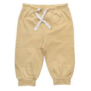 Babyhose -  gelb gestreift - People Wear Organic