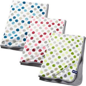 Babydecke aus 100% Bio-Baumwolle, 75x100cm, inkl. Geschenkschachtel - quschel®
