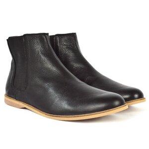 '88v vegane Chelsea Boots in Schwarz - SORBAS