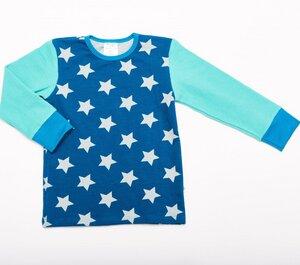 Langarm T-shirt 'Stars' aus 95% Bio-Baumwolle und 5% Elasthan (GOTS) - Cheeky Apple