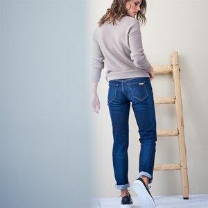 Living Crafts Jeans Donna Dark Denim Blue - Living Crafts