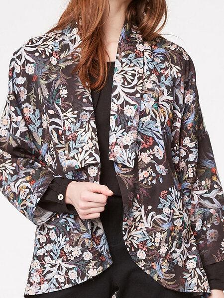 Kimono-Jacke aus Tencel von THOUGHT