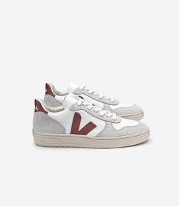 SNEAKER - V-10 BMESH WHITE DRIED PETAL - Veja