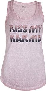 Loose Tank Kiss my Karma Winter Rose - OGNX