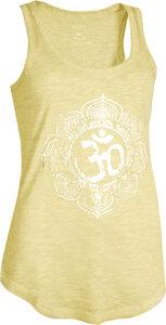 OGNX Yoga Tank Pigment Dyed OM Damen Gelb - OGNX