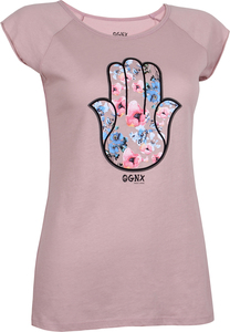 T-Shirt Hamsa Flower Winter Rose - OGNX