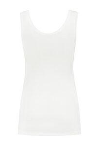 weißes Basic Tanktop Umstandsshirt Stillshirt GOTS - Love2Wait
