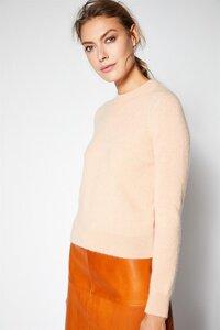 Rundhals Pullover peach - Lanius