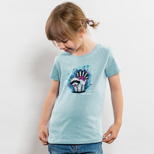 Julius Muschalek - König der Stadtmitte - Girls Organic Cotton T‑Shirt - Nikkifaktur