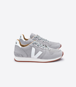 HOLIDAY BASTILLE NUBUCK OXFORD GREY WHITE  - Veja