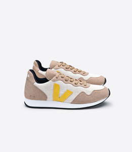 Sneaker Damen - SDU Rec - Natural Miel Gold Yellow - Veja