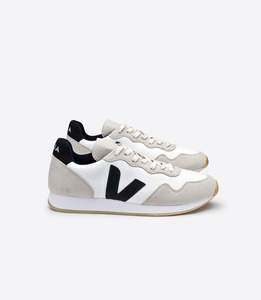SDU - B-MESH WHITE NATURAL BLACK - Veja