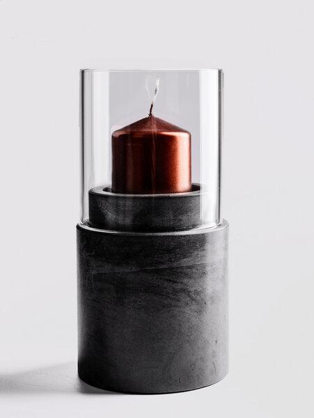 ovisproducts windlicht aus beton ovisproducts no 03 avocadostore. Black Bedroom Furniture Sets. Home Design Ideas