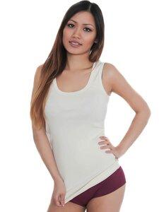 Damen Tank Top 4 Farben Bio-Baumwolle Unterhemd  T-shirt - Albero