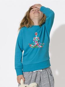 Sweatshirt mit Motiv / Yoga - Kultgut
