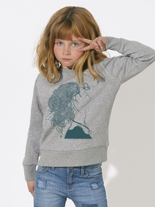 Sweatshirt mit Motiv / Feeling Summer  - Kultgut