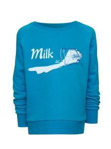 Sweatshirt mit Motiv / Milk  - Kultgut