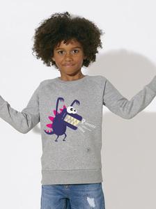 Sweatshirt mit Motiv / Little Monster  - Kultgut