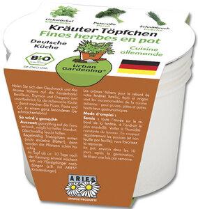Urban Gardening Kräutertöpfe – Deutsche Küche - ARIES