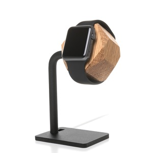 EcoDock Watch Edit. Ladestation, AppleWatch 1,2,3,4 & 5 - Woodcessories