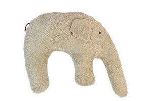 Kuschelkissen 'Elefant' Farbe: hellbraun / Hirsespelz - PAT & PATTY