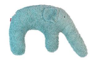 "Kuschelkissen ""Elefant"" Farbe: eisblau / Hirsespelz - PAT & PATTY"