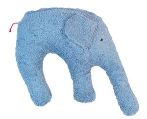 "Kuschelkissen ""Elefant"" Farbe: blau / Hirsespelz - PAT & PATTY"