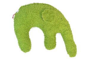 Kuschelkissen 'Elefant' Farbe: grün / Hirsespelz - PAT & PATTY