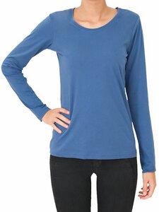 Damen Langarmshirt 5 Farben Bio-Baumwolle Oberteil T-Shirt  - Albero