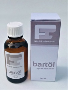 Bartöl pure Reinheit  - friedl & habermann