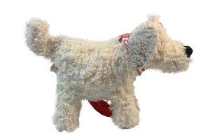 Spieluhr 'Hund' weiss  - PAT & PATTY