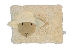 Wärmekissen 'Schaf', Dinkelkörner ,Farbe: hell blau Streifen - PAT & PATTY