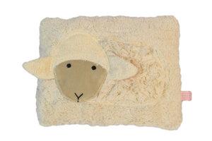 Wärmekissen 'Schaf', Dinkelkörner ,Farbe: rosa Streifen - PAT & PATTY