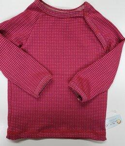 Babyshirt Knit-Knit Ministripes pink - Omilich