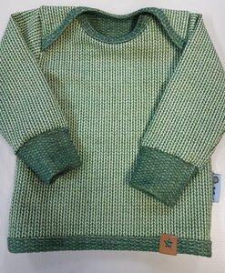 Babyshirt Knit-Knit hellgrün - Omilich