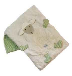 Kuschlige Bio-Babydecke 'Schaf', Größe ca . 75 x 100 cm - PAT & PATTY