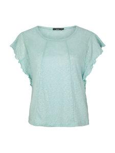 Leinen Shirt Solveig - Mintgrün - Lana