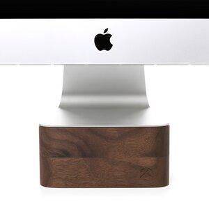 EcoFoot iMac Stand, Halterung aus massivem Echtholz  - Woodcessories