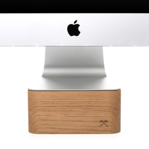 Woodcessories - EcoFoot iMac Stand, Halterung aus massivem Echtholz  - Woodcessories