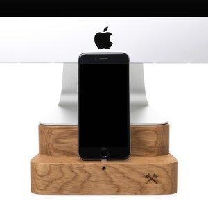EcoFoot Dock iMac Stand. Halterung aus echtem Holz - Woodcessories