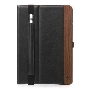 EcoWallet iPad Hülle Flip Case, natürliche Lederoptik - Woodcessories