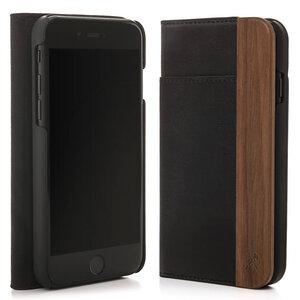 EcoWallet iPhone Case in hochwertiger Lederoptik - Woodcessories