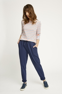 Sasha Trousers Navy - People Tree