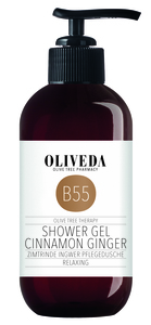 Pflegedusche Zimtrinde Ingwer - Oliveda