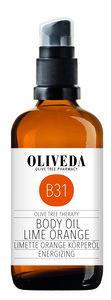 Körperöl Limette Orange Energizing - Oliveda
