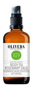 Körperöl Rosmarin Salbei Activating - Oliveda
