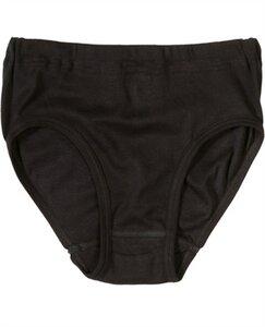 Taillen-Slip, schwarz 4356 Biobaumwolle ohne Seitennaht - Living Crafts