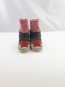 Gr.24/25 Kindergartenschuhe aus Wolle, Schuhe aus Wolle - Süßstoff